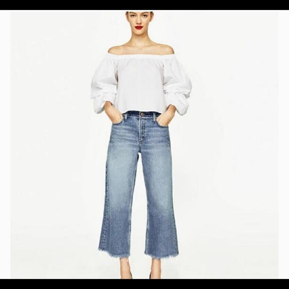 Zara Tops - Zara Off Shoulder Top XS